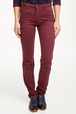 Pantalon OLIVIA K 48OK2PS100 Rouge bordeaux