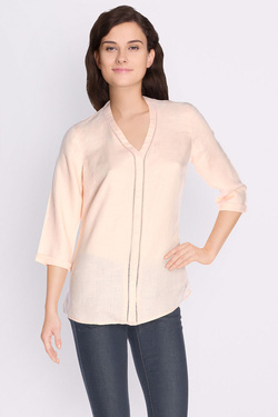 Chemise manches longues OLIVIA K 49OK2CH100 Rose