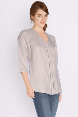 Chemise manches longues OLIVIA K 49OK2CH100 Taupe
