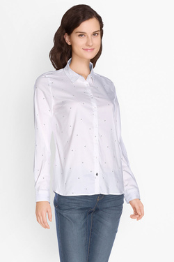 Chemise manches longues OLIVIA K 49OK2CH101 Blanc