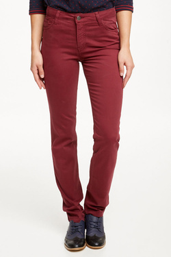 Pantalon OLIVIA K 50OK2PS100 Rouge bordeaux