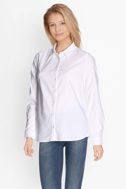 Chemise manches longues OLIVIA K 50OK2CH103 Blanc