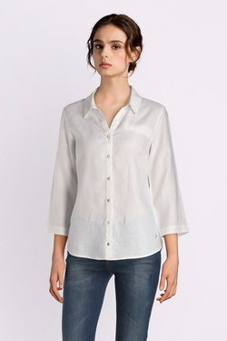 Chemise manches longues OLIVIA K 51OK2CH100 Blanc