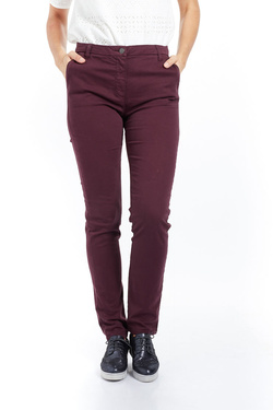 Pantalon OLIVIA K 52OK2PS200 Rouge bordeaux