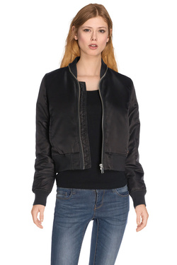 ON YOU Blouson bomber matelass� noir O5TEDN26