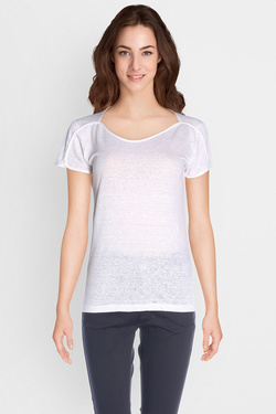 ONE STEP - Tee-shirtFJ10331Blanc