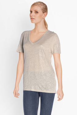 ONE STEP - Tee-shirtFJ10061Beige