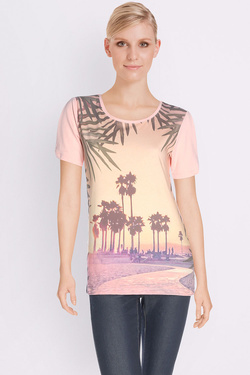 ONE STEP - Tee-shirtFJ10261Rose