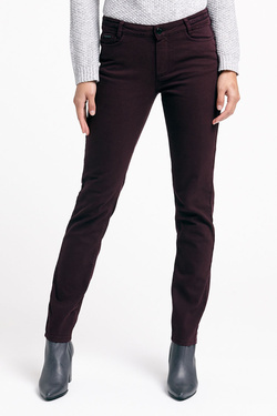 Pantalon ONE STEP FK29061 Rouge bordeaux