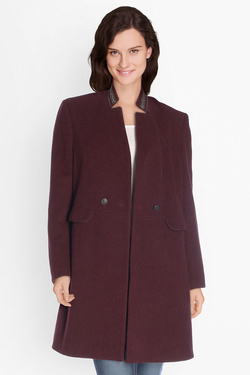Manteau ONE STEP FK44101 Rouge bordeaux