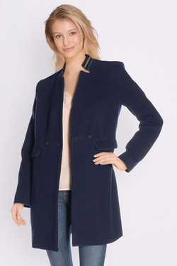 Manteau ONE STEP FK44101 Bleu marine