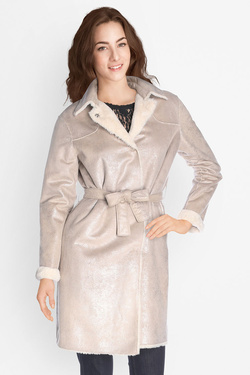 Manteau ONE STEP FK42041 Beige