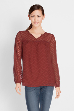 Blouse ONE STEP FK11301 CLAY Rouge
