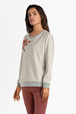 Sweat-shirt ONE STEP FN15001 Gris