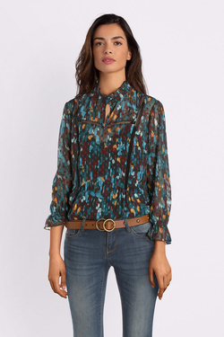 Blouse ONE STEP FP11061 Bleu