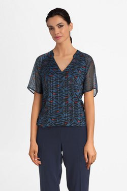 Blouse ONE STEP FP11231 Bleu