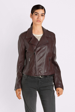Blouson ONE STEP FP48041 Rouge bordeaux