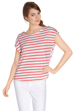 ONE STEP Tee-shirt rouge FH11331
