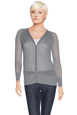 ONE STEP Gilet gris FH17041