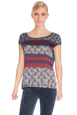 ONE STEP - Tee-shirtFI11171Bleu