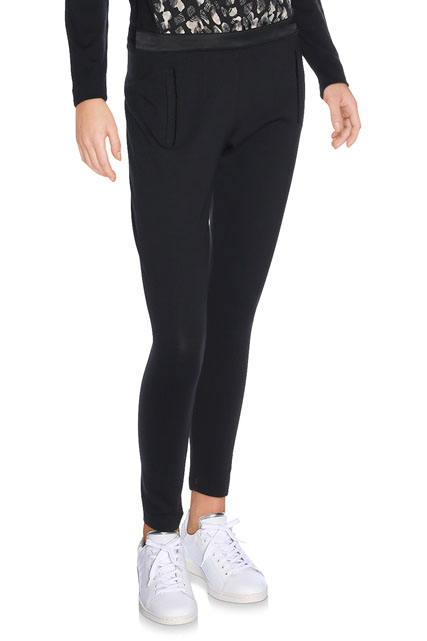 PANTALON DE VILLE NOIR ONE STEP
