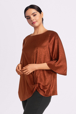 Blouse ONLY CARMAKOMA 15188725 CARLEONORA Cuivre