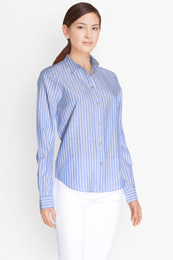 Chemise manches longues ONLY 15130179 Bleu