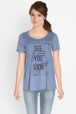Tee-shirt ONLY 15133488 Bleu