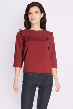 Blouse ONLY 15142645 ONLMONKEY Rouge