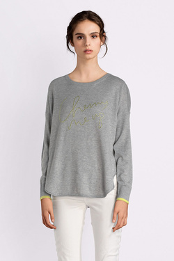 Pull ONLY 15149475 ONLHEATHER Gris