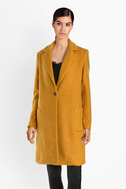 Manteau ONLY 15158909 ONL ASTRID Jaune moutarde