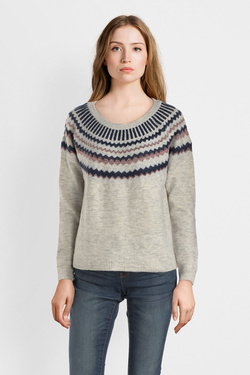 Pull ONLY 15162953 ONL ALBA Gris clair