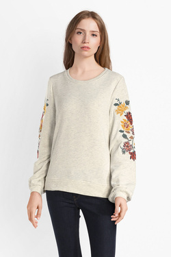 Sweat-shirt ONLY 15162032 ONLANNA Beige
