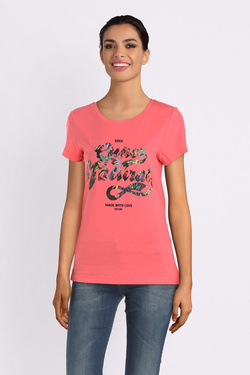 Tee-shirt ONLY 15173376 ONLAMY Corail