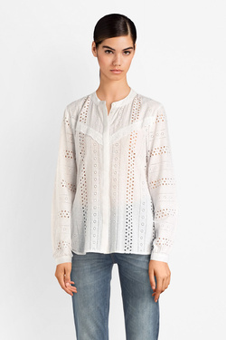 Chemise manches longues ONLY 15169835 ONLMIRIAM Blanc