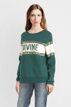 Sweat-shirt ONLY 15185828 Vert