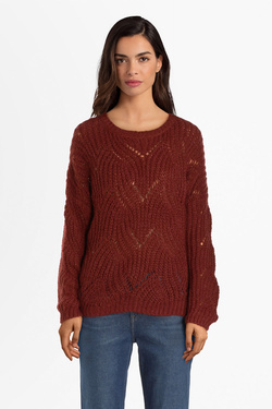 Pull ONLY 15187600 ONLHAVANA Rouge bordeaux