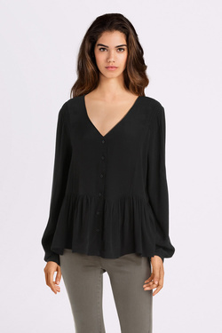 Blouse ONLY 15186380 ONLELLIE Noir