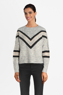 Pull ONLY 15189822 ONLTRINKA Gris