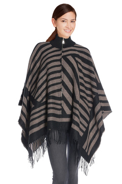 ONLY - Poncho15121859Marron