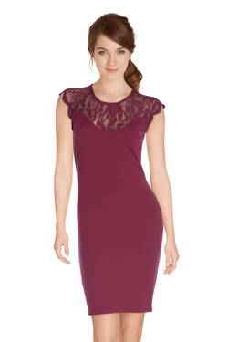 ONLY - Robe15126117Rouge bordeaux