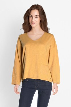 Pull ORFEO MOH.SWT889 Jaune moutarde