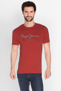 PEPE JEANS LONDON - Tee-shirtPM503328Rouge foncé