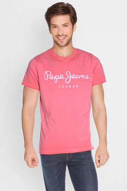 PEPE JEANS LONDON - Tee-shirtPM503650Rouge