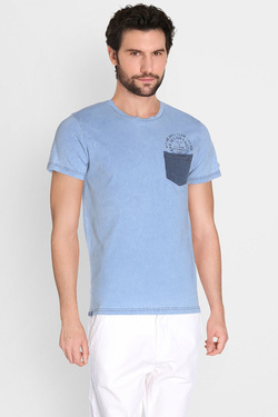 PEPE JEANS LONDON - Tee-shirtPM503597Bleu ciel