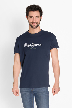 Tee-shirt PEPE JEANS LONDON PM500465 Bleu