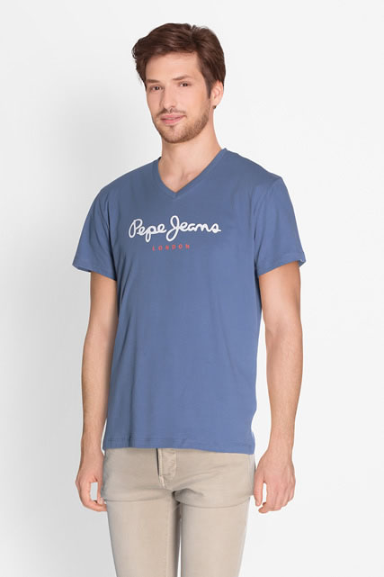 Tee-shirt encolure v PEPE JEANS LONDON