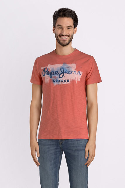 Vous Jeans London Pm503213 Orange Pepe Marques Shirt Et Tee HommeDes doxeCB