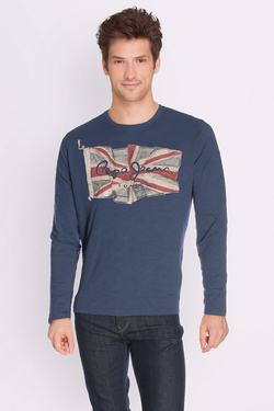 Tee-shirt manches longues PEPE JEANS LONDON PM503781 Bleu