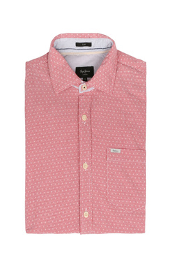 Chemise manches courtes PEPE JEANS LONDON PM 303150 Rouge